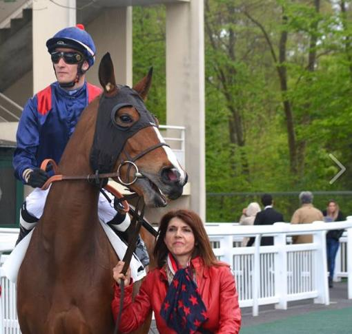 Cheval gagnant Chantilly